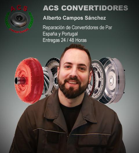 taller reparador de convertidores de par